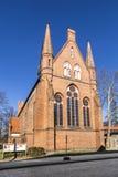 圣约翰,新勃兰登堡,梅克伦堡西Pomerani教会  免版税库存照片