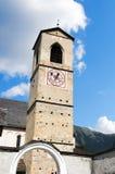 圣约翰- Mustair瑞士女修道院  免版税图库摄影