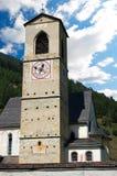 圣约翰- Mustair瑞士女修道院  免版税库存照片