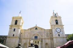 圣约翰` s大教堂在瓦莱塔,马耳他 免版税库存图片