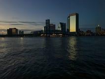 圣约翰` s河,杰克逊维尔,佛罗里达 库存照片