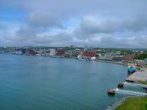 圣约翰` s港口,纽芬兰,加拿大 免版税库存图片