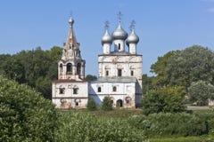 圣约翰Chrysostom教会  免版税库存照片