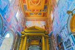 圣约翰Lateran大教堂在罗马,意大利 库存照片