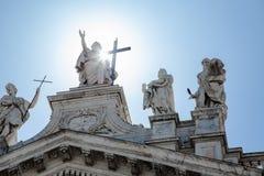圣约翰Lateran大教堂 库存图片