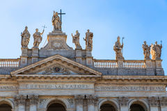 圣约翰Lateran大教堂 库存照片