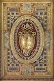 圣约翰Lateran的大教堂。天花板 免版税库存照片