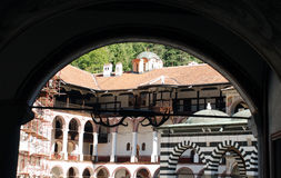 圣约翰Rilski,保加利亚修道院  免版税库存图片