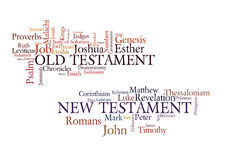 圣经书 库存图片