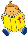 圣经孩子 免版税库存照片