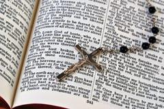 圣经念珠 免版税库存图片