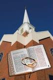 圣经教会环形 图库摄影