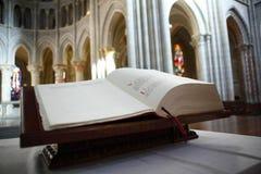 圣经教会 免版税库存图片