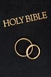 圣经敲响婚礼 图库摄影