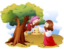 圣经的表达式 免版税图库摄影