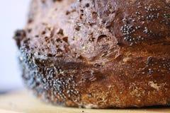 圣经的面包特写镜头 免版税库存图片