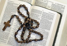 圣经研究 库存图片