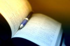 圣经研究 免版税库存照片