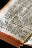 圣经系列thessalonians 库存图片