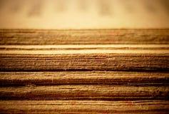 圣经老被开张的页 库存图片