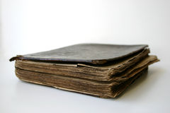 圣经葡萄酒 免版税库存图片