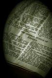 圣经詹姆斯乌贼属系列 免版税库存照片