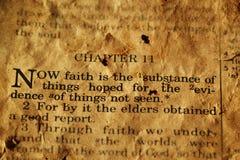 圣经诗歌 免版税库存图片
