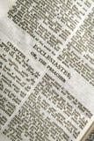 圣经ecclesiastes系列 库存照片
