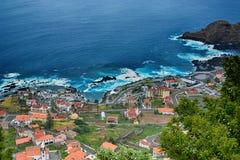 圣维森特,波尔图莫尼兹,马德拉岛,葡萄牙 免版税图库摄影