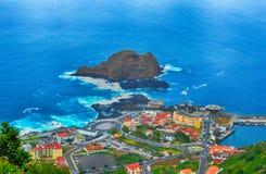 圣维森特,波尔图莫尼兹,马德拉岛,葡萄牙 免版税库存照片