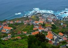 圣维森特,波尔图莫尼兹,马德拉岛,葡萄牙 免版税库存图片