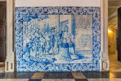 圣维森特de Fora,里斯本,葡萄牙修道院  免版税库存照片