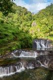 圣罗莎德卡瓦尔瀑布垂直 免版税图库摄影