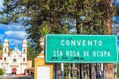 圣罗莎de Ocopa Convent 免版税库存图片