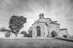 圣胡利安de los Prados Church 免版税库存图片