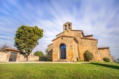 圣胡利安de los Prados Church 免版税图库摄影
