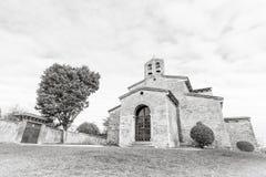 圣胡利安de los Prados Church 免版税库存照片