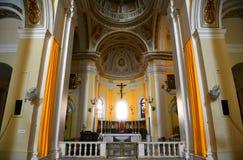 圣胡安包蒂斯塔,圣胡安,波多黎各大教堂  库存图片