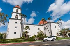 圣胡安卡皮斯特拉努 免版税库存图片
