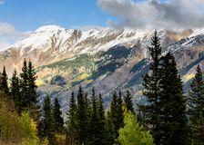 圣胡安山在科罗拉多 库存图片