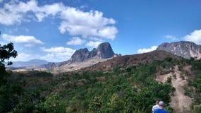 圣胡安德洛斯莫罗斯,委内瑞拉山  图库摄影
