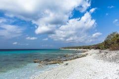 圣胡安海滩 免版税库存图片