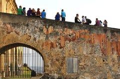 圣胡安的Castillo 库存照片