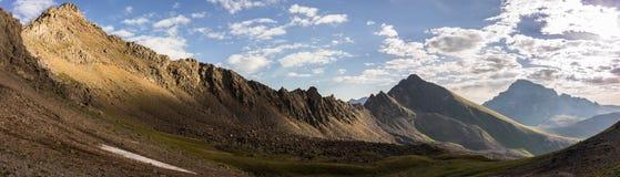 圣胡安范围山,科罗拉多落矶山 库存照片