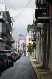 圣胡安街道, PR 免版税库存照片