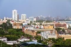 圣胡安都市风景 免版税库存照片