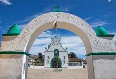 圣胡安Chamula,恰帕斯州,墨西哥 免版税图库摄影