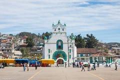 圣胡安Chamula,恰帕斯州,墨西哥 免版税库存照片