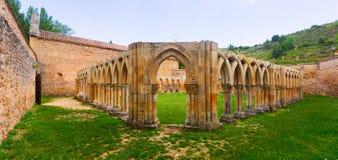 圣胡安de杜罗哥特式被破坏的修道院  免版税图库摄影