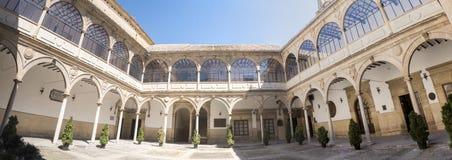 圣胡安Evangelista大学教堂修道院,老大学, 库存图片